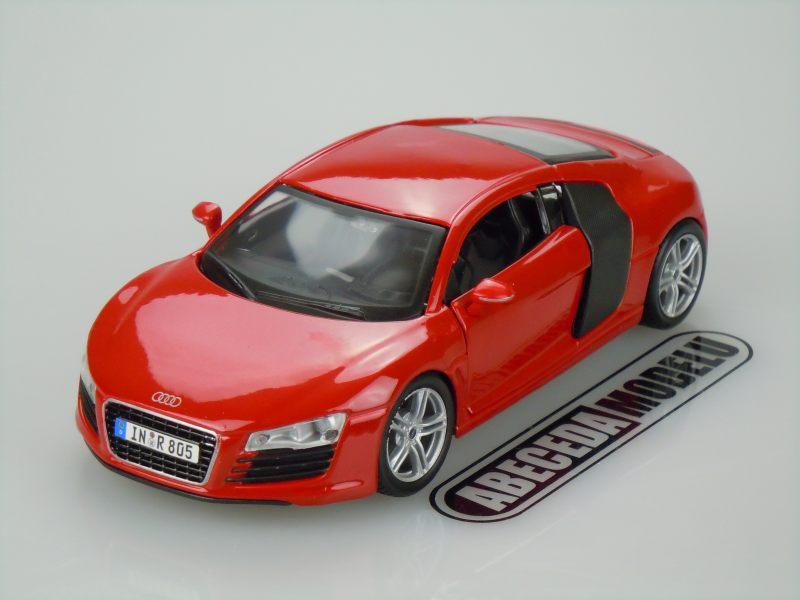 Maisto 1:24 Audi R8 (red) code Maisto 31281, modely aut