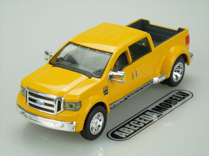 Maisto 1:31 Ford Mighty F-350 (yellow) code Maisto 31213, model motocyklu