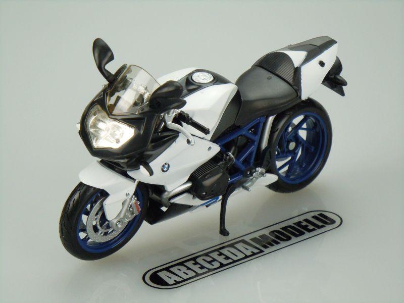 Maisto 1:12 BMW HP2 Sport (white) code Maisto 31159, model motocyklu