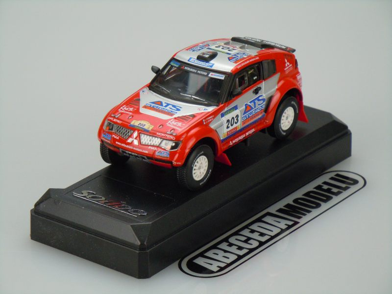 Solido 1:43 Mitsubishi Pajero Evolution 2004 (red) code Solido 1596, modely aut