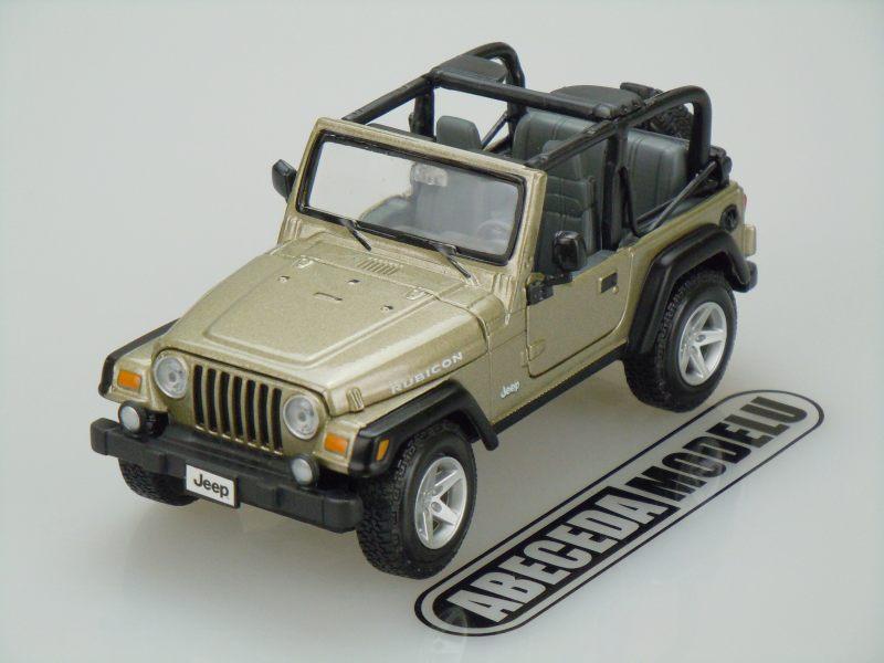 Maisto 1:27 Jeep Wrangler Rubicon (khaki) code Maisto 31245, modely aut