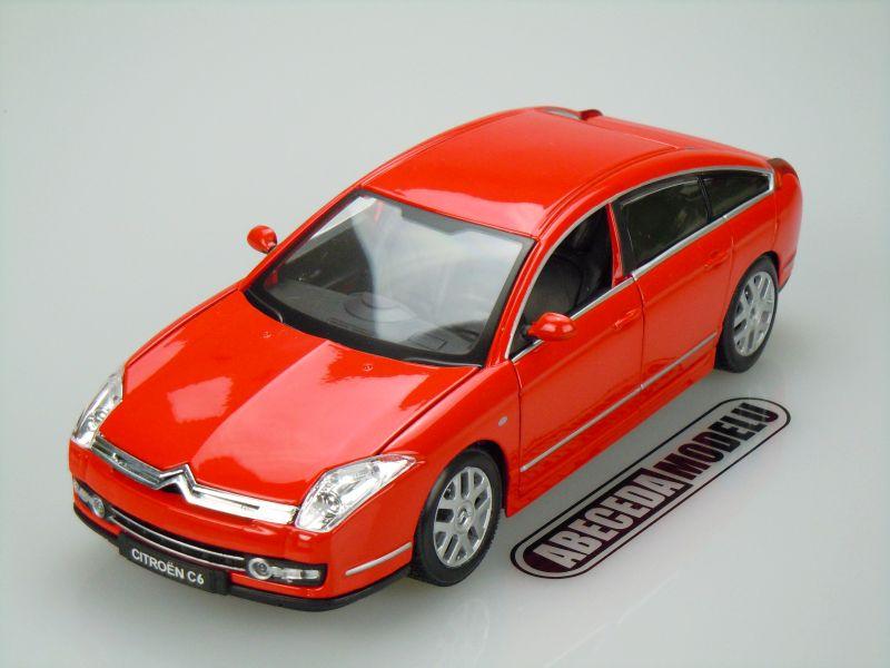 Bburago 1:20 Citroen C6 (red) code Bburago 11012, modely aut