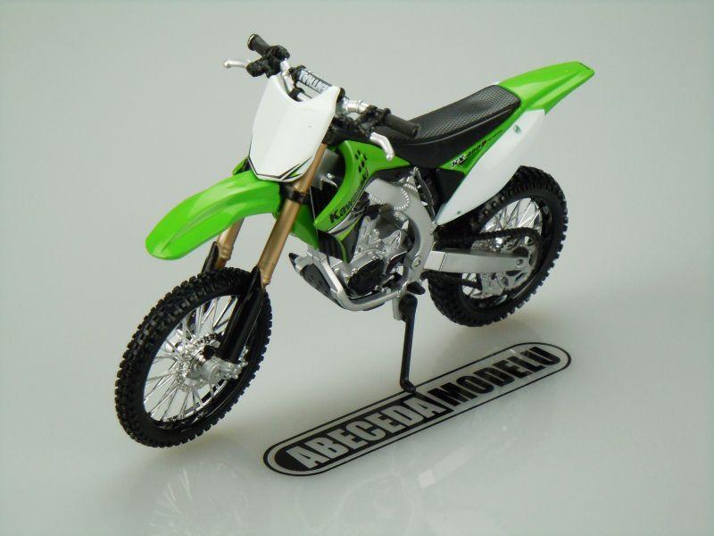 Maisto 1:12 Kawasaki KX 450F (green) code Maisto 31175, model motocyklu