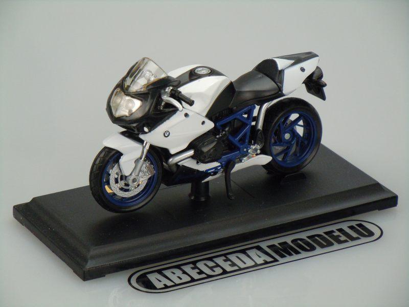 Maisto 1:18 BMW HP2 Sport (white) code Maisto 39300-08010, model motocyklu