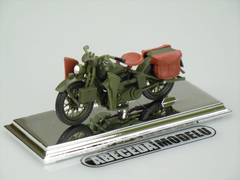 Maisto 1:18 Harley Davidson WLA Flat Head 1942 (green) code Maisto 39387, model motocyklu
