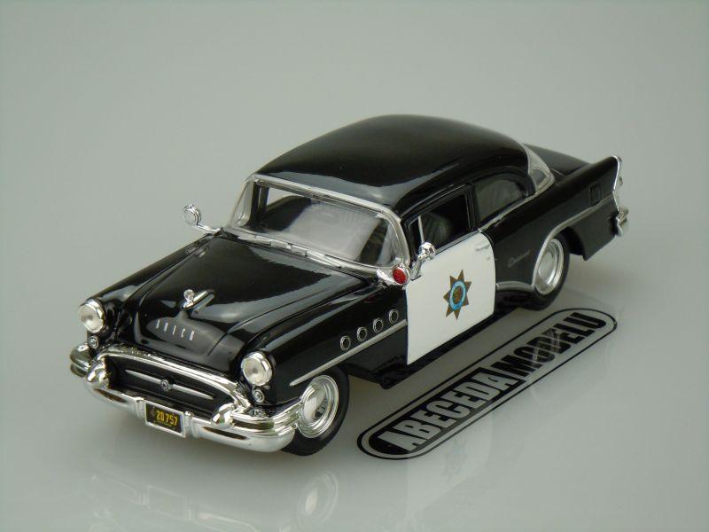 Maisto 1:26 Buick Century 1955 (black) code Maisto 31295, modely aut