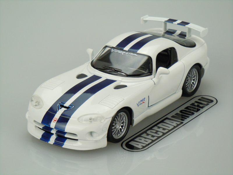 Maisto 1:24 Dodge Viper GT2 (white) code Maisto 31945, model motocyklu