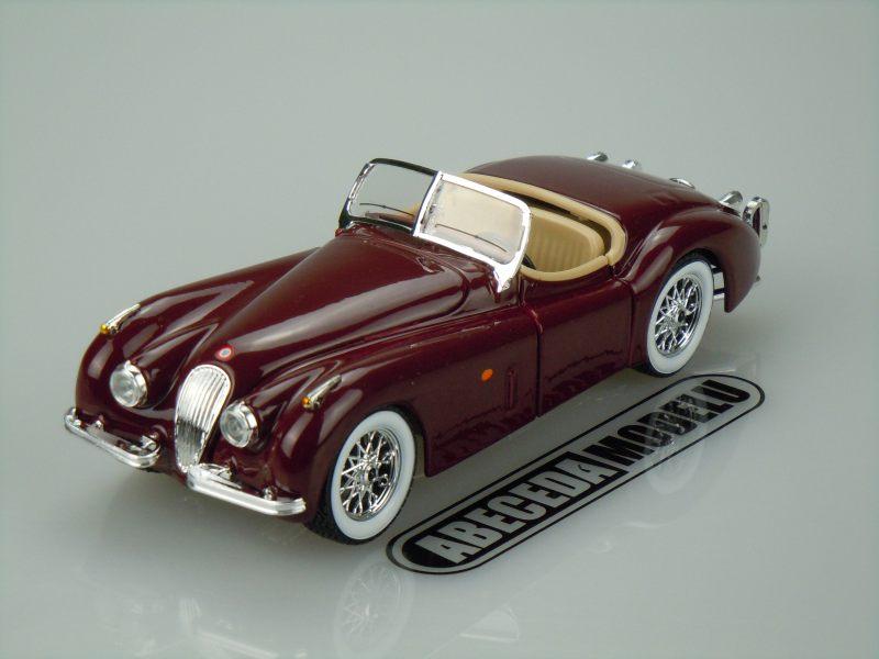 Bburago 1:24 Jaguar XK 120 Roadster (red) code Bburago 22018, modely aut