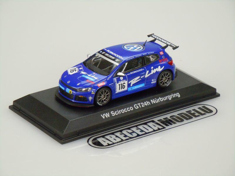 Norev 1:43 VW Volkswagen Scirocco GT24h Nürburgring (blue) code Norev 840192, modely aut