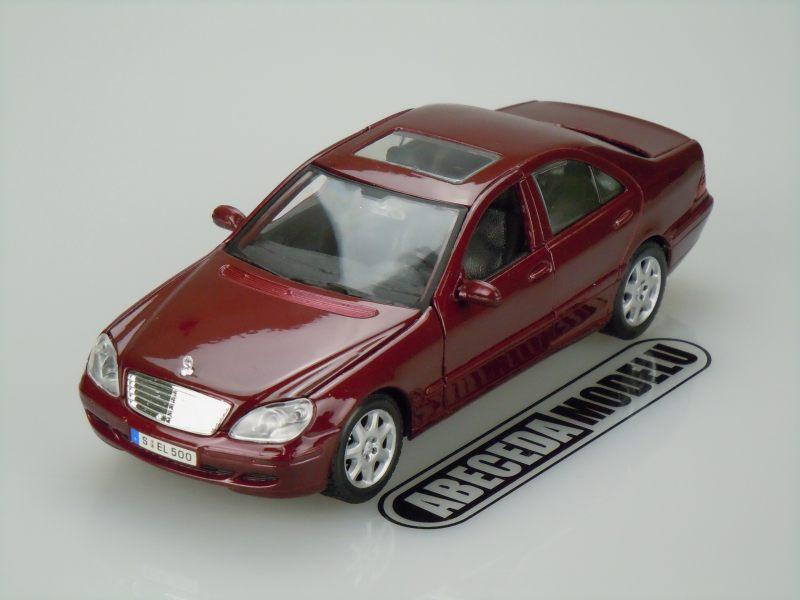 Maisto 1:26 Mercedes Benz S-Class 2002 (red) code Maisto 31955, modely aut