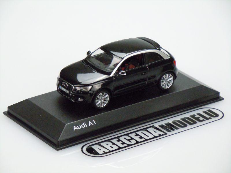 Kyosho 1:43 Audi A1 (black) code Kyosho 5011001033, modely aut